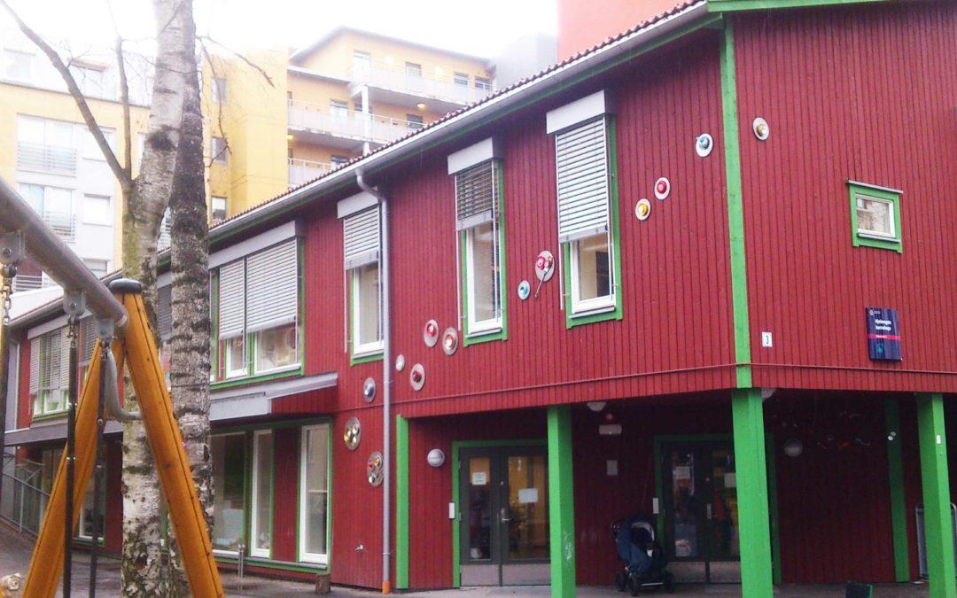 Habitat på Hjelmsgate barnehage, Oslo