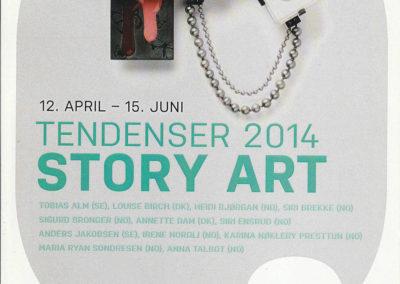 Tendenser 2014 – Story Art, Galleri F15